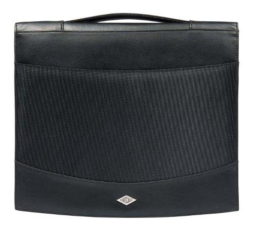 WEDO Orgamappe Elegance, DIN A4, Kunstleder/Nylon, schwarz