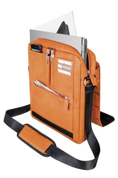 WEDO Crossover-Tasche GoFashionPro für Tablet-PC, orange