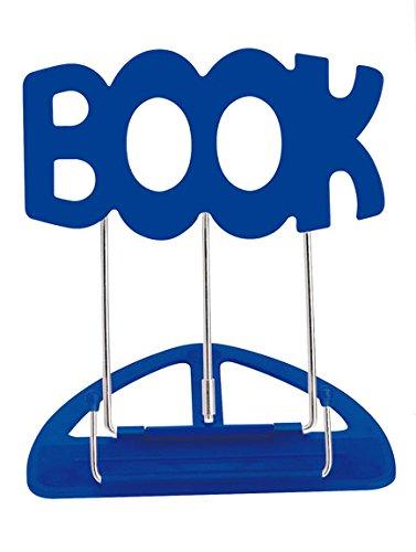 WEDO Leseständer BOOK, mit Kunststoffunterteil, blau