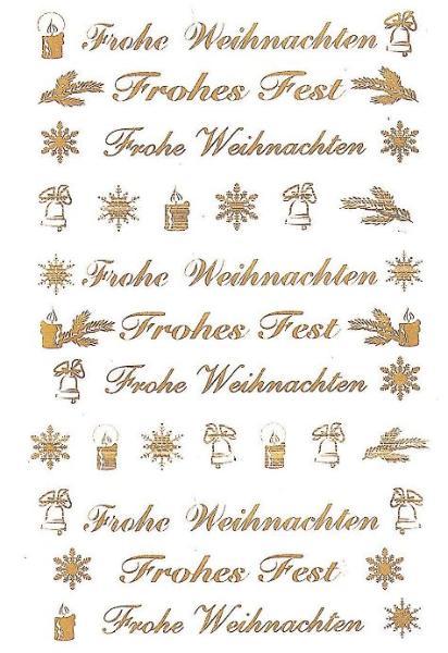 #10xAVERY ZWECKFORM Weihn.Schmucketikett Schriften