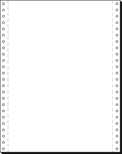 sigel DIN-Computerpapier endlos, 240 mm x 12 (30,48 cm)
