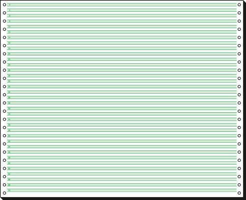 sigel DIN-Computerpapier endlos, 375 mm x 12 (30,48 cm)