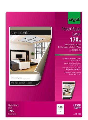 sigel Foto-Papier, DIN A4, 170 g/qm, 2-seitig glossy