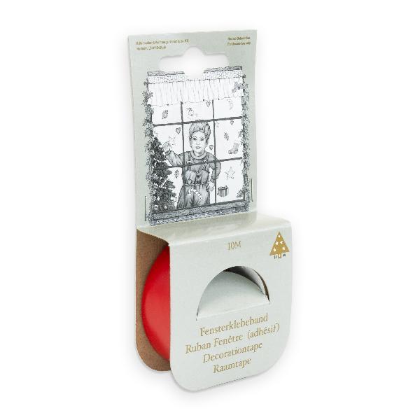 Klebeband für Fenster rot 10mx19mm