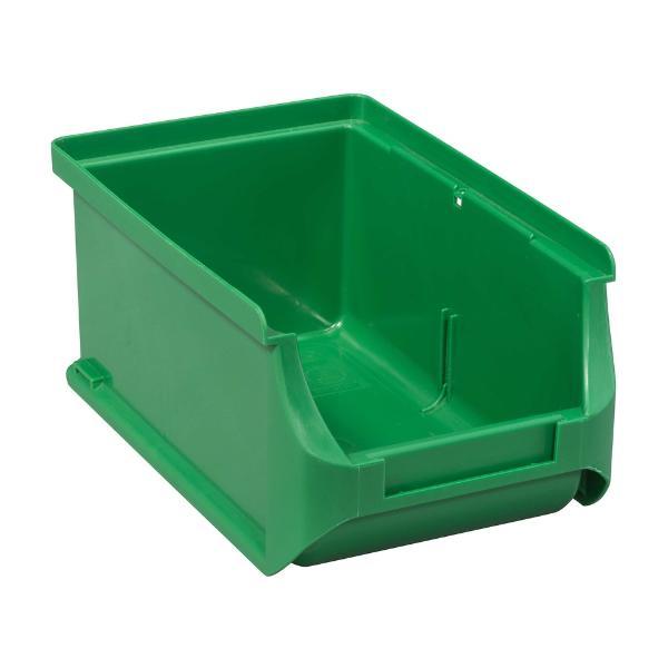 allit Sichtlagerkasten ProfiPlus Box 2, aus PP, grün