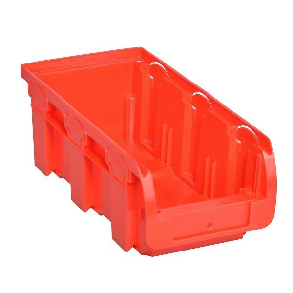 allit Sichtlagerkasten ProfiPlus Compact 2L, aus PP, rot