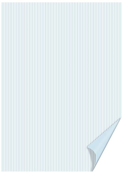 #20xHEYDA Bastelkarton Happy Papers Linien, DIN A4, he...