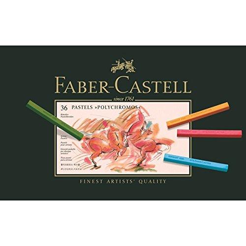 FABER-CASTELL Pastellkreiden POLYCHROMOS, 36er Etui