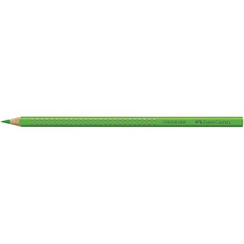 FABER-CASTELL Dreikant-Buntstift Colour GRIP, grasgrün