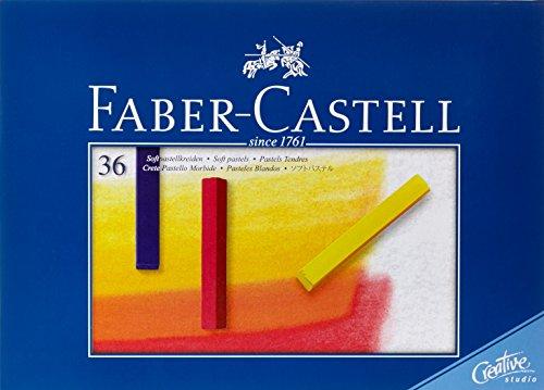 FABER-CASTELL Softpastellkreiden STUDIO QUALITY, 36er Etui