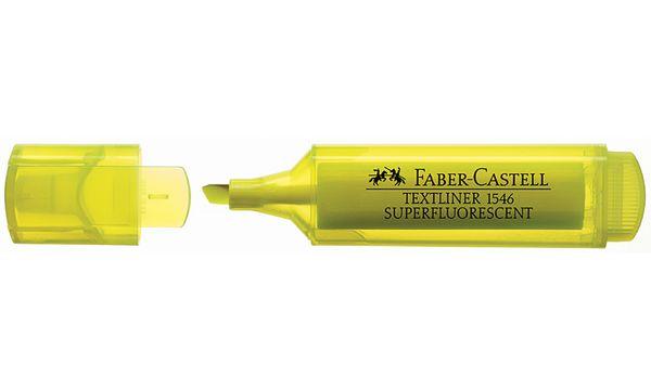 FABER-CASTELL Textmarker TEXTLINER 1546, gelb