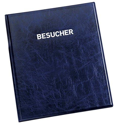 DURABLE Besucherbuch VISITORS BOOK 100, Lederoptik