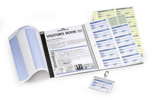 DURABLE Recharges pour Registre visiteurs VISITORS BOOK 100