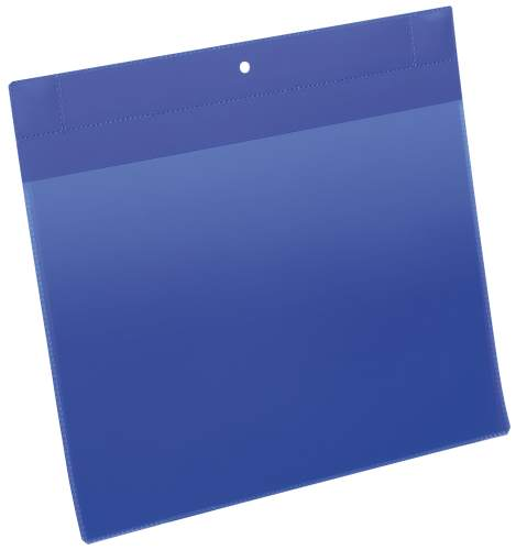 DURABLE Neodym-Magnettasche, DIN A4 quer, blau
