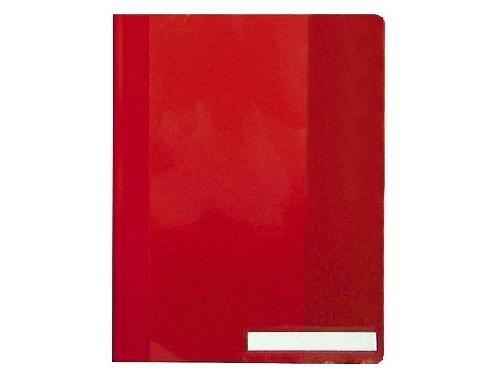 #25xDURABLE Schnellhefter, DIN A4, aus PVC, rot