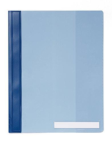 #25xDURABLE Schnellhefter, DIN A4, aus PVC, blau