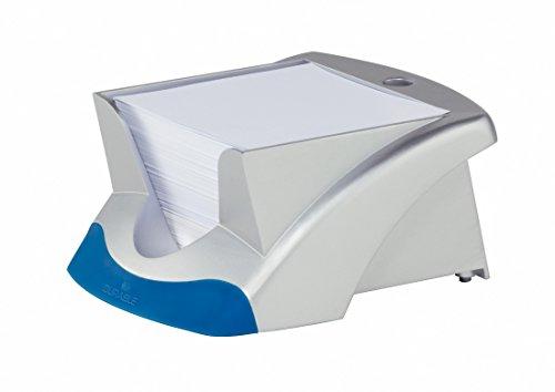 DURABLE Zettelbox NOTE BOX VEGAS, silber/blau