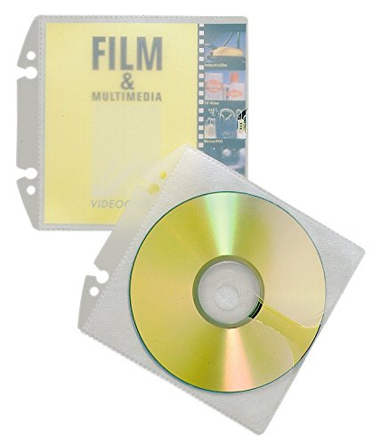 DURABLE CD-/DVD-Hülle COVER EASY, PP, transparent