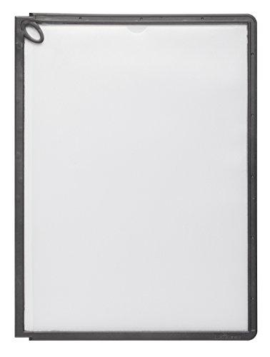 #5xDURABLE Sichttafel SHERPA Panel PLUS, DIN A4, schwarz