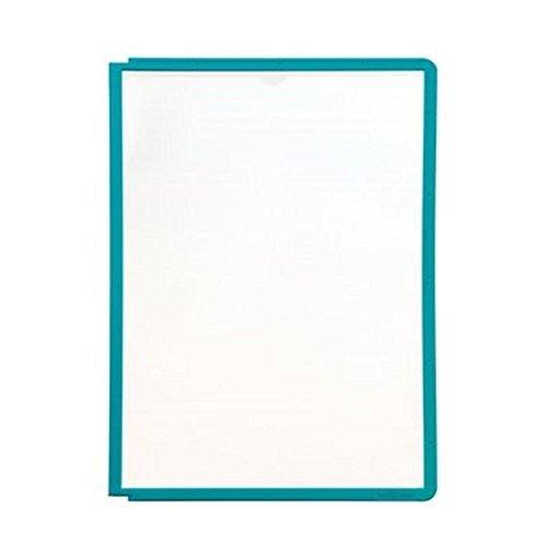 #5xDURABLE Sichttafel SHERPA, DIN A4, Rahmen: grün