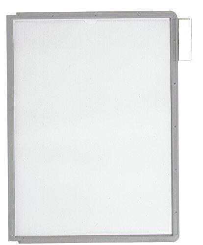 #5xDURABLE Sichttafel SHERPA, DIN A4, Rahmen: grau