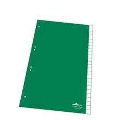 DURABLE Kunststoff-Register, PP, Stärke: 0,12 mm, 25-teilig