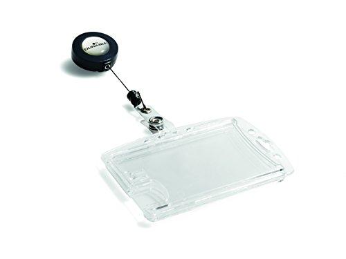 DURABLE Doppelbox mit Ausweishalter, transparent