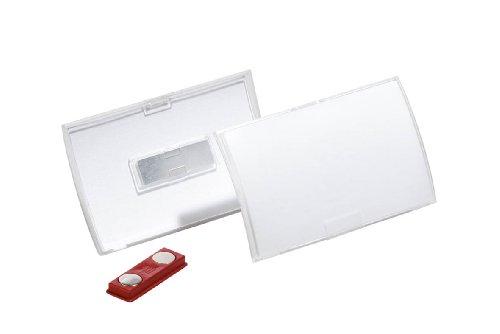 DURABLE Namensschild Click Fold, mit Magnet, 90 x 54 mm