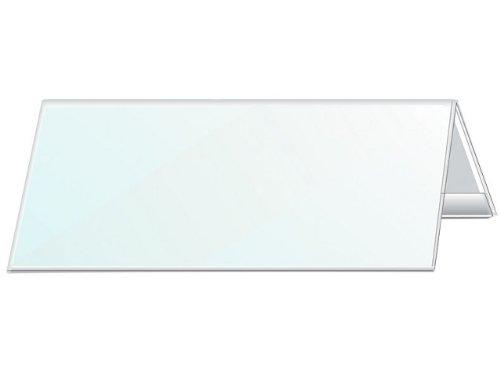 DURABLE Tisch-Namensschild, Dach-Form, aus Harfolie