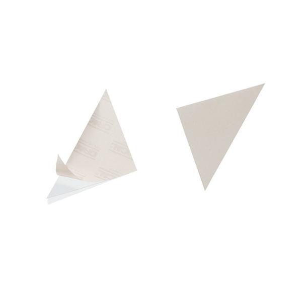 DURABLE Dreieck-Selbstklebetaschen CORNERFIX, 125 x 125 mm