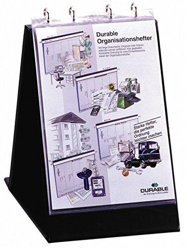 DURABLE Klarsichthüllen für Tisch-Flipchart, A4 quer