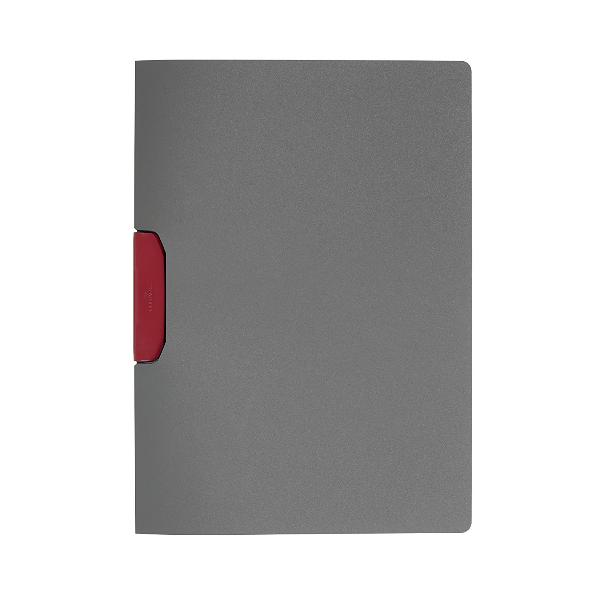 DURABLE Klemmhefter DURASWING COLOR, A4, anthrazit / rot