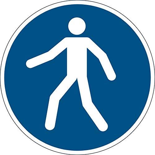 DURABLE Sicherheitskennzeichen Fußgängerweg benutzen