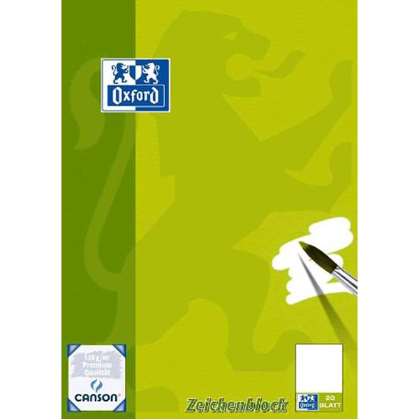 Oxford Zeichenblock, DIN A3, blanko, 120 g/qm