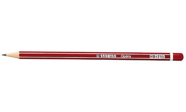 STABILO Bleistift Opéra, sechseckig, Härtegrad: HB
