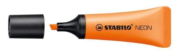 STABILO Textmarker NEON, orange