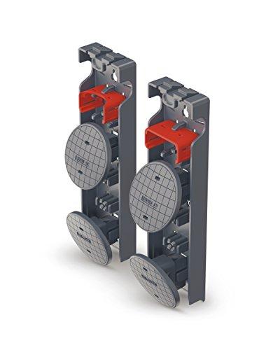 Hailo Wechselfuß-Set - Tellerfüße SafetyClix