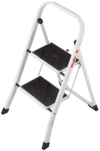 Hailo Stahl-Klapptritt K20, 2 Stufen