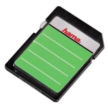 Etiketten für SD-Karten - farblich sortiert