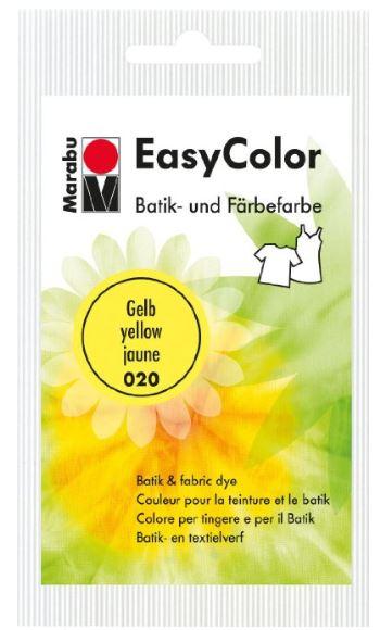 Marabu Batik- und Färbefarbe EasyColor, 25 g, gelb