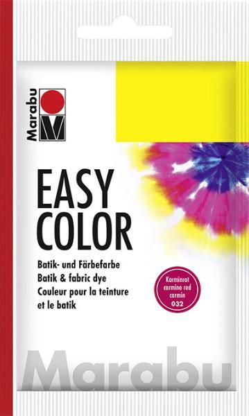 Marabu Easy-Color 25G karminrot Batikfarbe Färbefarbe