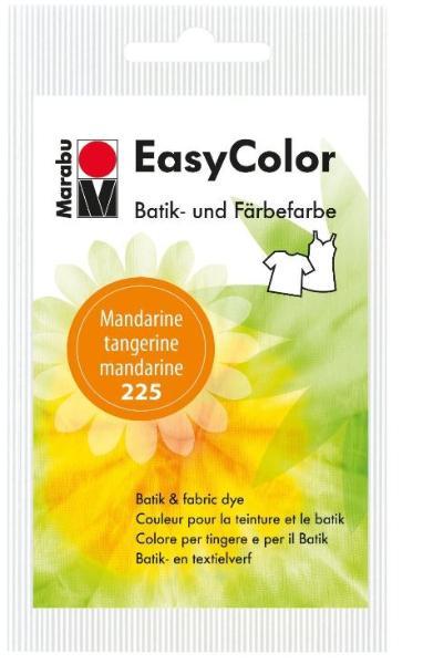Marabu Batik- und Färbefarbe EasyColor, 25 g, mandarine