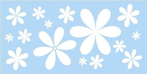 Marabu Motivschablone Flower Power, 150 x 330 mm