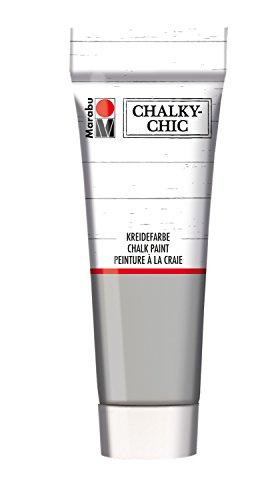 Marabu Kreidefarbe Chalky-Chic, 100 ml, steingrau