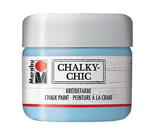 Marabu Kreidefarbe Chalky-Chic, 225 ml, lichtblau
