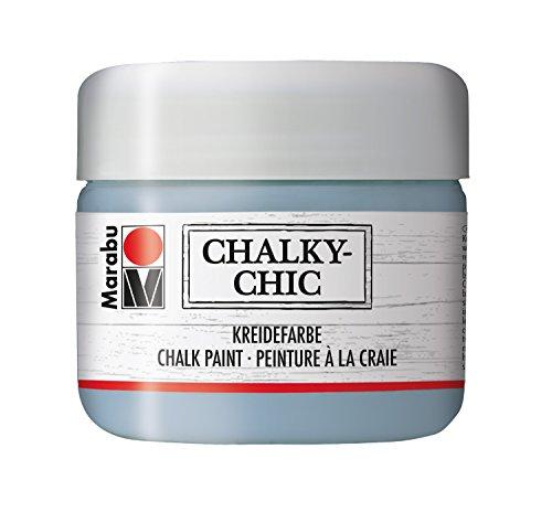 Marabu Kreidefarbe Chalky-Chic, 225 ml, graublau