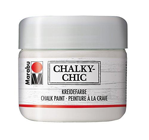 Marabu Kreidefarbe Chalky-Chic, 225 ml, edelweiß