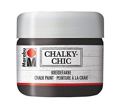 Marabu Kreidefarbe Chalky-Chic, 225 ml, ebenholz