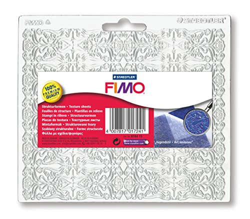 FIMO Strukturform Jugendstil, 150 x 168 mm