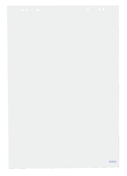 #5xherlitz Flipchart-Block, 20 Blatt, blanko, 680 x 990 mm